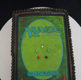 Magic Players card